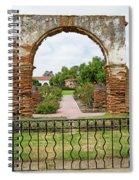 Mission San Luis Rey Carriage Arch Spiral Notebook