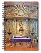 Mission San Miguel Arcangel Altar, San Miguel, California Spiral Notebook