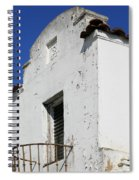 Mission Style Architecture Spiral Notebook