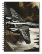 Mission To Danger Spiral Notebook