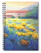 Mission Wildflowers Spiral Notebook