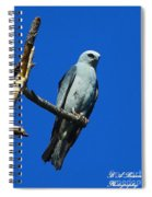 Mississippi Kite Spiral Notebook