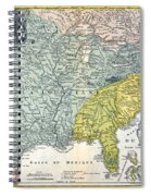 Mississippi Region, 1687 Spiral Notebook