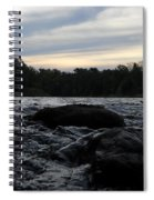 Mississippi River Dawn Sky Spiral Notebook
