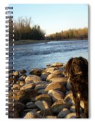 Mississippi River Good Morning Spiral Notebook
