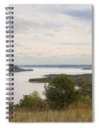 Mississippi River Lake Pepin 10 Spiral Notebook