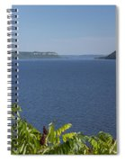 Mississippi River Lake Pepin 2 Spiral Notebook