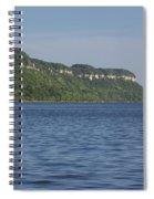 Mississippi River Lake Pepin 4 Spiral Notebook