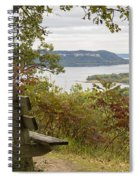 Mississippi River Lake Pepin 8 Spiral Notebook