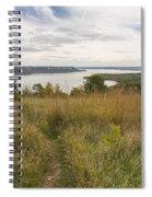 Mississippi River Lake Pepin 9 Spiral Notebook