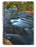 Mississippi River Minneapolis Spiral Notebook