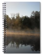 Mississippi River Smooth Reflection Spiral Notebook