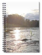 Mississippi River Victory At Sea Spiral Notebook