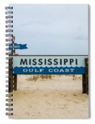 Mississippi Welcome Spiral Notebook