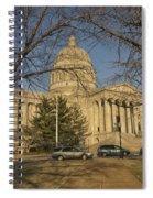 Missouri Capital Building Jefferson City Dsc00653 Spiral Notebook