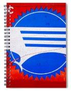 Missouri Pacific Spiral Notebook