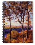 Missouri River In Fall Spiral Notebook