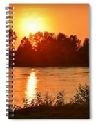 Missouri River In St. Joseph Spiral Notebook