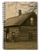 Missuakee County Log Cabin Spiral Notebook