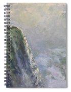 Mist At Horseshoe Falls  Spiral Notebook