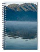 Mist On Lake Atitlan Guatemala Spiral Notebook