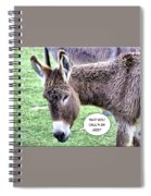 Mistaken Identity Spiral Notebook