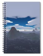 Misty Archipelago Spiral Notebook