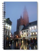 Misty Cathedral Spiral Notebook