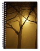 Misty Cross Spiral Notebook