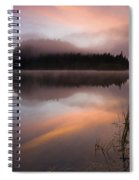 Misty Dawn Spiral Notebook