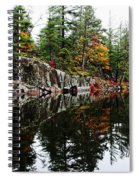 Misty Fall Spiral Notebook