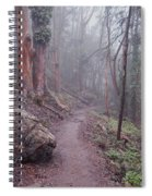 Cloud Forest- Mount Sutro Spiral Notebook