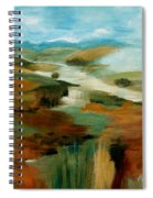 Misty Hills Spiral Notebook