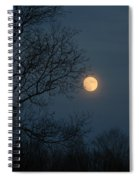 Misty Moonrise Spiral Notebook