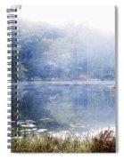 Misty Morning At John Burroughs #1 Spiral Notebook