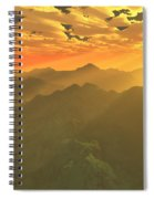 Misty Mornings In Neverland Spiral Notebook
