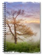 Misty Mountain Spiral Notebook
