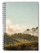 Misty Mountain Peaks Spiral Notebook
