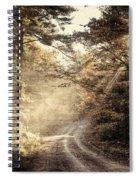 Misty Mountain Road Spiral Notebook