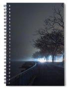 Misty Night Spiral Notebook