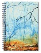 Misty November Woods Spiral Notebook