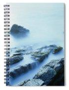 Misty Ocean Spiral Notebook