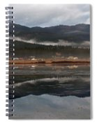 Misty Reflections Spiral Notebook