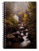 Misty Ruby Spiral Notebook