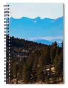 Misty Sangre View Spiral Notebook