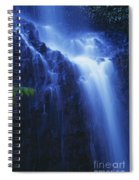 Misty Waterfall Spiral Notebook