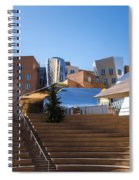 Mit Stata Center Cambridge Ma Kendall Square M.i.t. Staircase Spiral Notebook