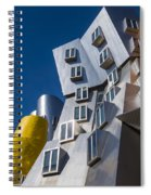 Mit Stata Center Cambridge Ma Kendall Square M.i.t. Spiral Notebook