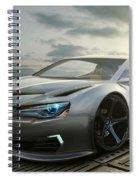 Mitsubishi Concept Spiral Notebook