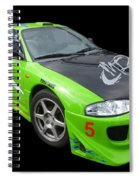 Mitsubishi Eclipse Spiral Notebook